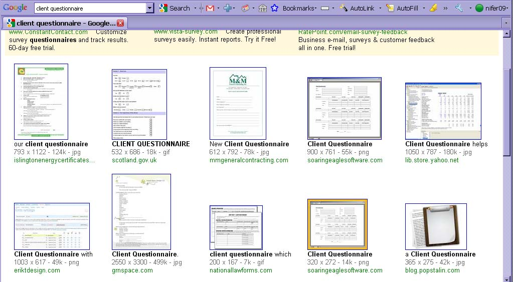 Why Client Questionnaires Suck De Graaf Design Associate S Blog
