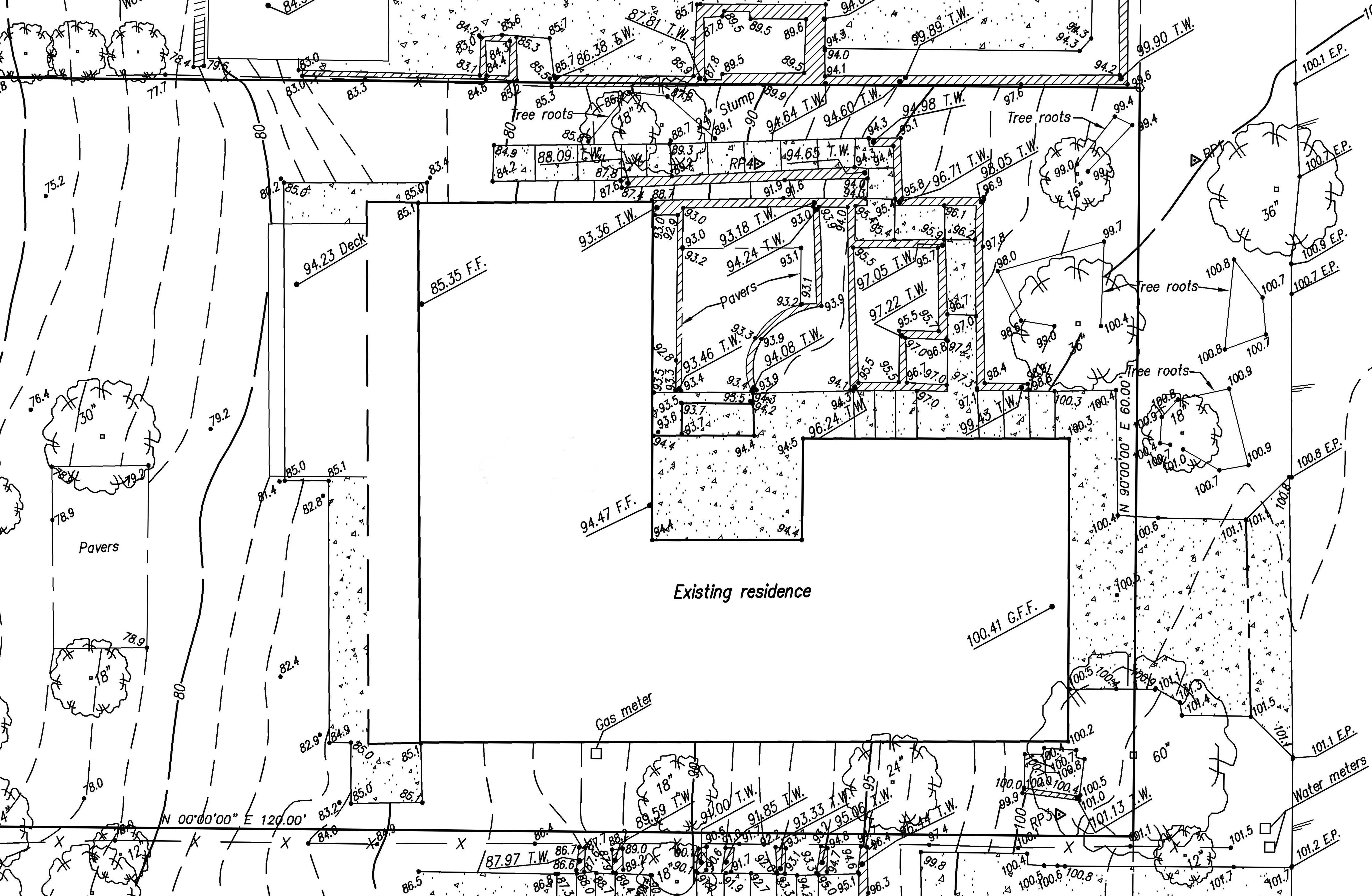 site survey example cropped